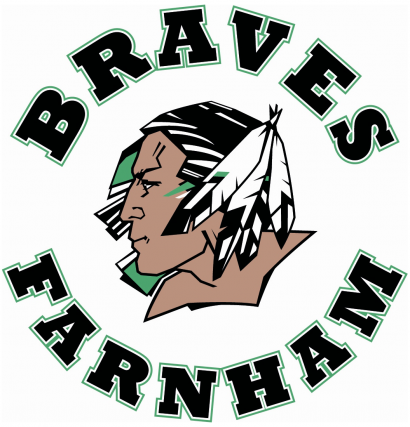 Les Braves de Farnham, de la Ligue de hockey junior AA Estrie-Mauricie,...