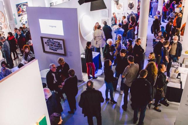 La grande fête annuelle de l'art contemporain à Saint-Lambert est de retour en... (PHOTO JEAN-MICHEL SEMINARO, FOURNIE PAR LA FAC DE SAINT-LAMBERT)