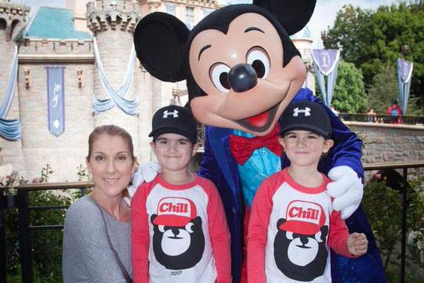 Céline Dion a provoqué tout un buzz auprès de ses fans cette semaine... (PHOTO TIRÉE DE TWITTER)