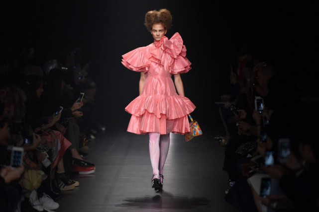 Selon la rédactrice de mode Tiffany Godoy, la... (PHOTO Toru YAMANAKA, AFP)