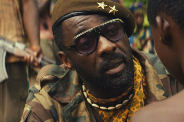 Idris Elba dans Beasts of No Nation.... (PHOTO AP)