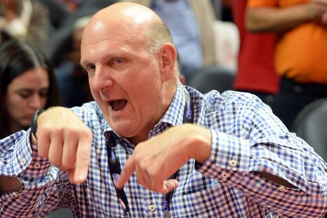 Steve Ballmer avait été le directeur général de... (PHOTO JAYNE KAMIN-ONCEA, ARCHIVES USA TODAY)