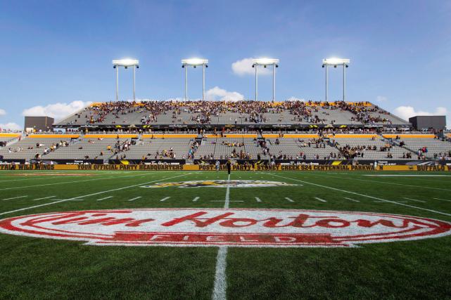 Le Tim Horton Field, à Hamilton.... (Photo Aaron Lynett, archives PC)