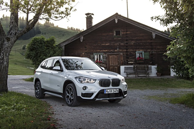 Le BMW X1... (PHOTO FOURNIE PAR BMW)