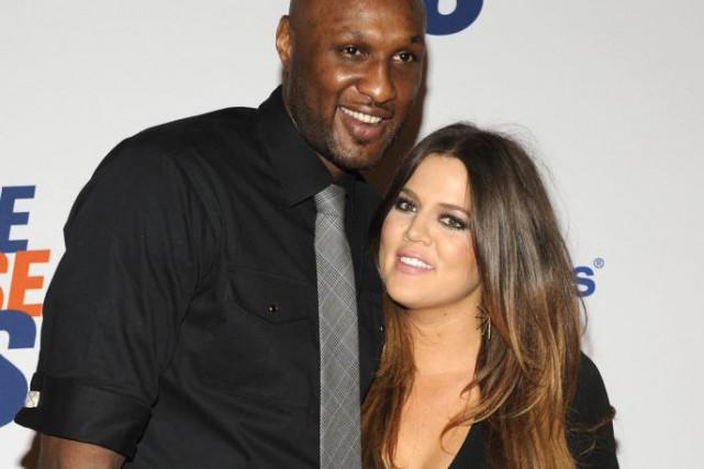 Khloe Kardashian, l'ex-femme de LamarOdom, le soutient à... (Photo PHIL McCARTEN, archives Reuters)