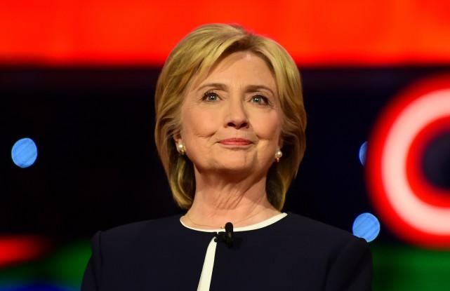 Sur scène, Hillary Clinton a été de loin... (PHOTO FREDERIC J. BROWN, AGENCE FRANCE-PRESSE)