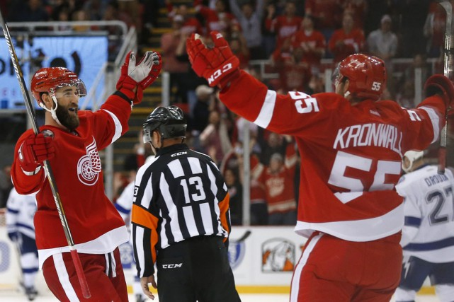 «La structure des Red Wings est très bonne,... (Photo Paul Sancya, AP)