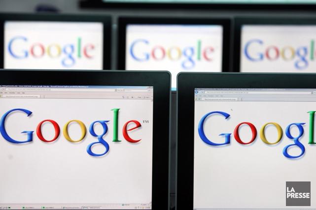 La numérisation de livres par Google pour sa... (Archives La Presse)