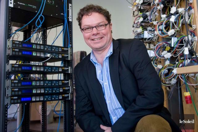 Pierre Longtin, président de Nyx Hemera... (Photothèque Le Soleil)