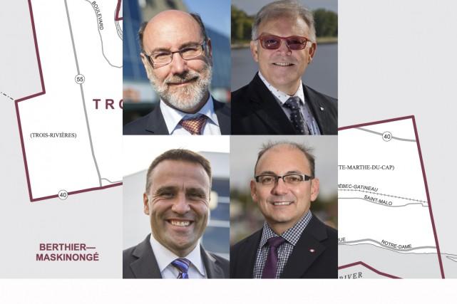 Alors que l'heure est au bilan chez les candidats dans Trois-Rivières, on...