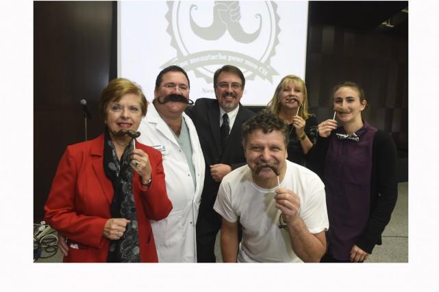 La campagne Une moustache pour mon CH a... (Photo: François Gervais)