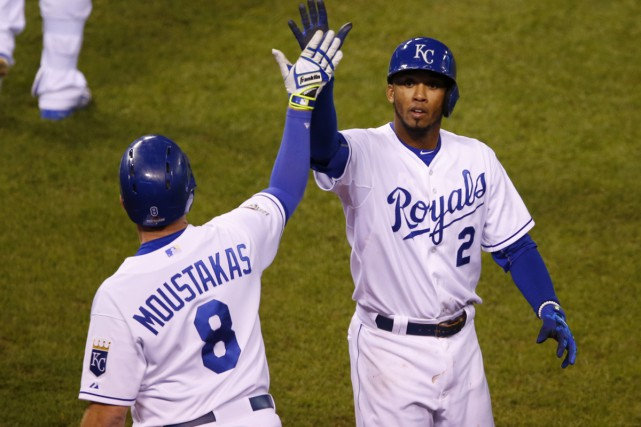 Les Royals ont blanchi les Blue Jays vendredi... (Associated Press)