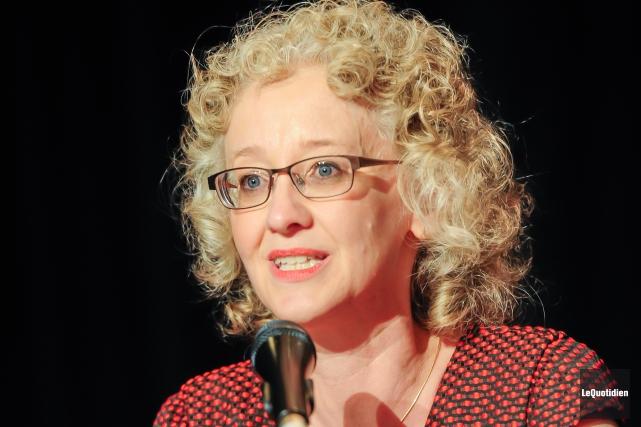 La candidate du NPD dans Lac-Saint-Jean, Gisèle Dallaire.... (Archives Le Quotidien)