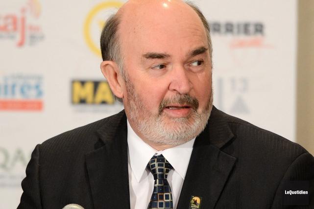 Selon le préfet Jean-Pierre Boivin, Kimberly-Clark continue d'acheter... (Archives Le Quotidien)