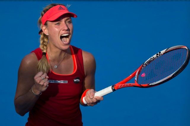 Angelique Kerber... (PHOTO KIN CHEUNG, AP)