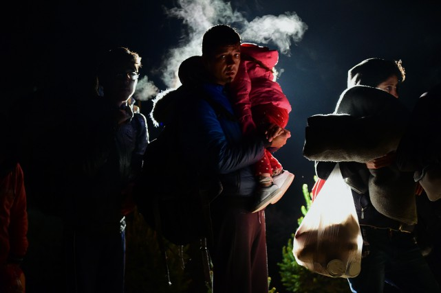 Zagreb a en conséquence redirigé samedi vers la... (PHOTO ATTILA KISBENEDEK, AFP)