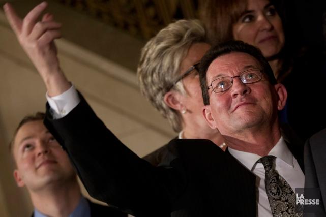 Le député démissionnaireMarjolain Dufoura annoncé son départ de... (PHOTO IVANOH DEMERS, ARCHIVES LA PRESSE)
