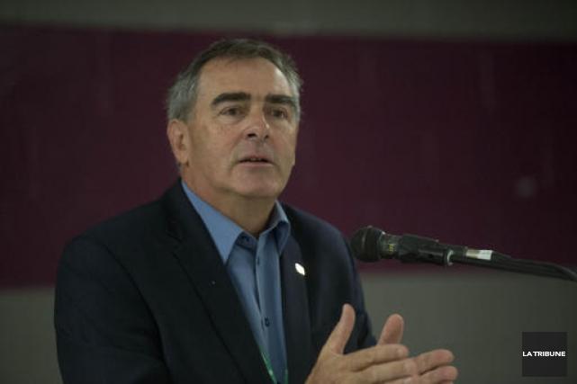 Marcel Groleau, président général de l'Union des producteurs... (Imacom, René Marquis)