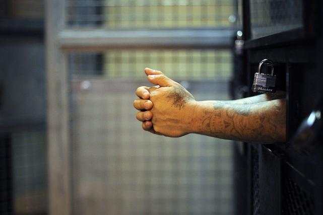 Quelque 2,2 millions de personnes sont détenues dans... (PHOTO ARCHIVES BLOOMBERG)