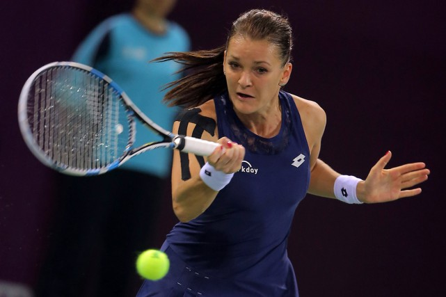 Agnieszka Radwanska... (PHOTO AGENCE FRANCE-PRESSE)