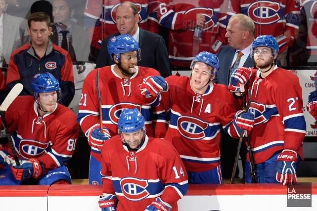 Les joueurs du Canadien tenteront d'améliorer leurrecord d'équipe... (PHOTO BERNARD BRAULT, LA PRESSE)
