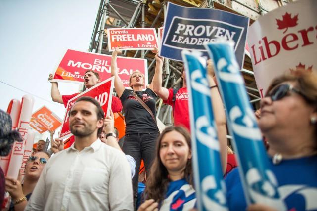 Le vote stratégique est un jeu de correspondances,... (PHOTOGEOFF ROBINS, AGENCE FRANCE-PRESSE)