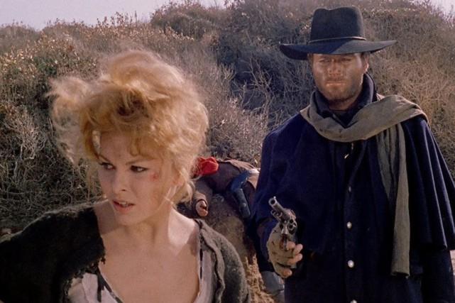 Loredana Nusciak et Franco Nero dans Django (1966)... (Photo fournie par Rialto Pictures)