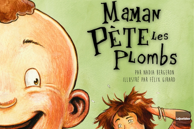 Dans le volet maternel du livre Il était... (Photo Le Quotidien, Jeannot Lévesque)