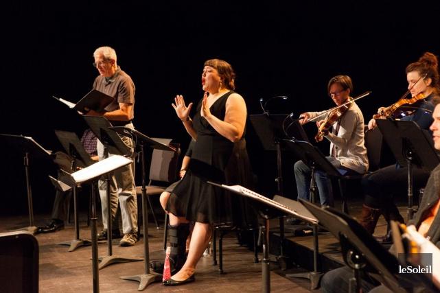 L'opéra a été présenté en version concert, sans... (Le Soleil, Caroline Grégroire)