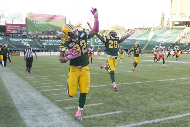Sean Whyte a réussi un placement de 30 verges en supplémentaire et les Eskimos... (Photo Jason Franson, La Presse canadienne)