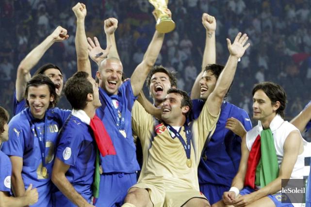 Le Mondial de 2006 avait été remporté par... (Photothèque Le Soleil)