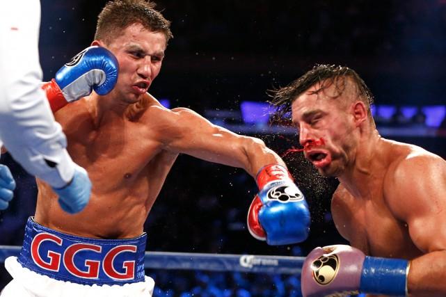 Gennady Golovkin a servi une leçon de boxe... (Photo Rich Schultz, archives AP)