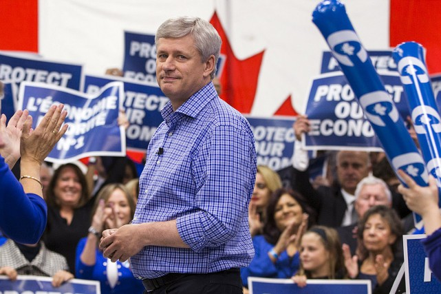 Le premier ministre du Canada, Stephen Harper, sera-t-il... (Photo Mark Blinch, Reuters)