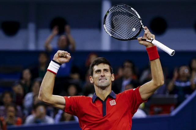 Novak Djokovic aremporté un 57etitre en carrière.... (PHOTO DAMIR SAGOLJ, REUTERS)
