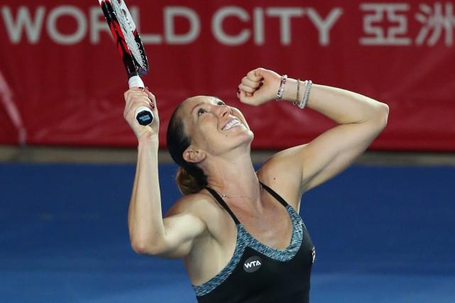 Jelena Jankovic... (PHOTO KIN CHEUNG, AP)