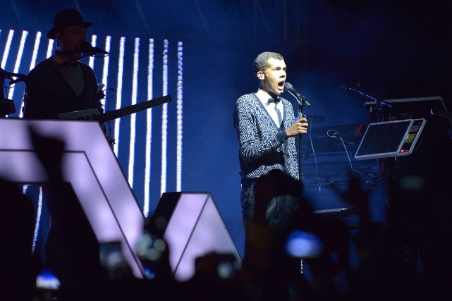 Stromae... (PHOTO TONY KARUMBA, AFP)