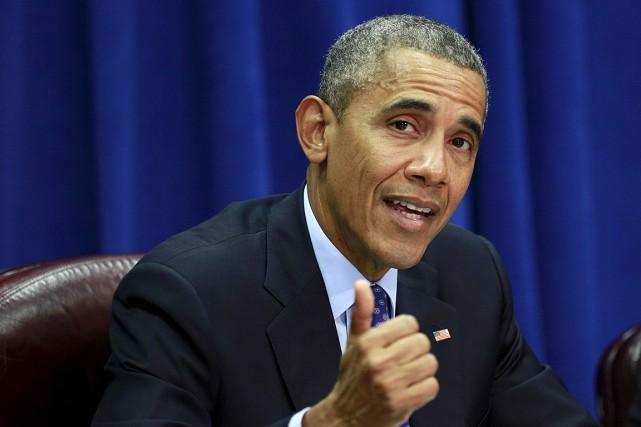 Le président américain Barack Obama a ordonné dimanche... (PHOTO KEVIN LAMARQUE, ARCHIVES REUTERS)