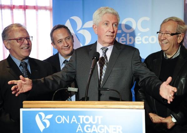 Le candidat dans Trois-Rivières, André Valois, le candidat... (Photo: Andréanne Lemire)