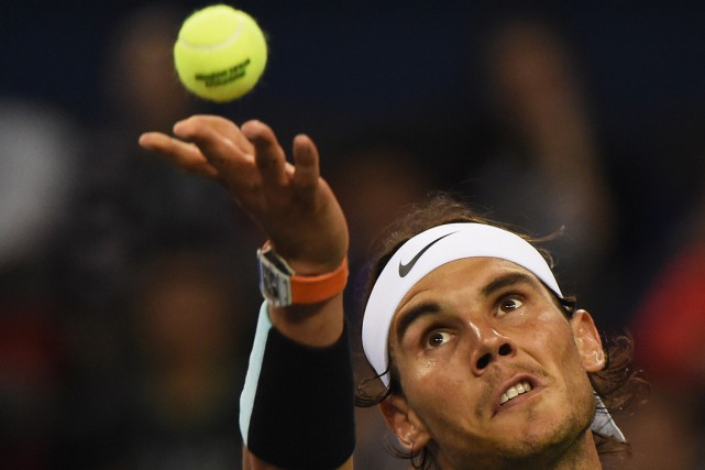 Rafael Nadal... (PHOTO GREG BAKER, AFP)