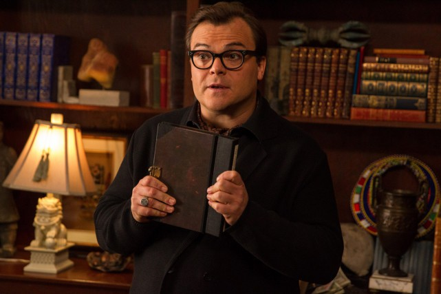 Jack Black dans Goosebumps... (PHOTO FOURNIE PAR COLUMBIA PICTURES)