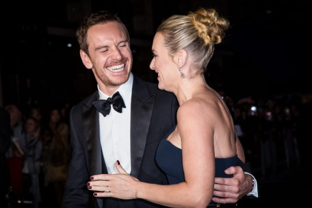 Les vedettes de Steve Jobs Michael Fassbender et... (PHOTO AP)