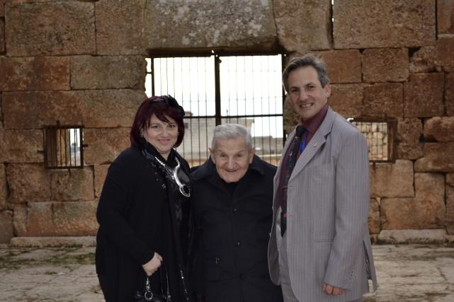 Peggy, Antoine et George Edelby ont récemment demandé... (Photo fournie)
