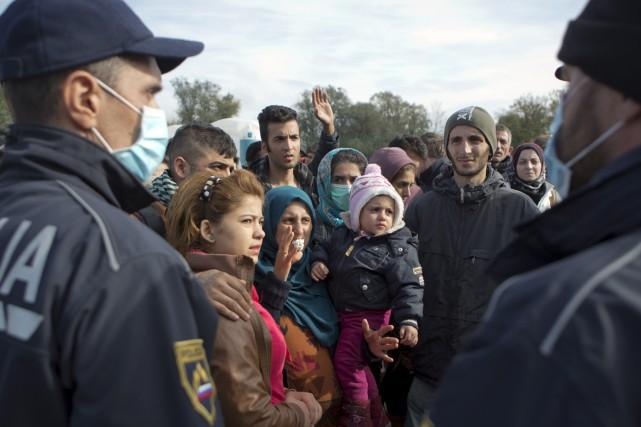 «Un réfugié est une personne qui a fui... (Photo Agence France-presse)