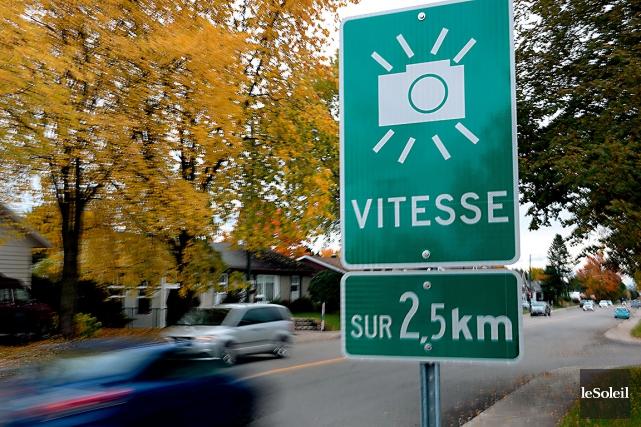 À Québec, 38 sites pourront accueillir un radar... (Archives Le Soleil, Erick Labbé)
