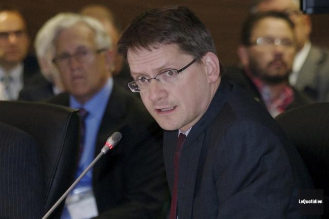 Le député de Jonquière Sylvain Gaudreault... (Archives Le Quotidien)