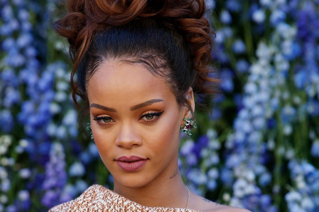 Rihanna... (PHOTO ARCHIVES AFP)