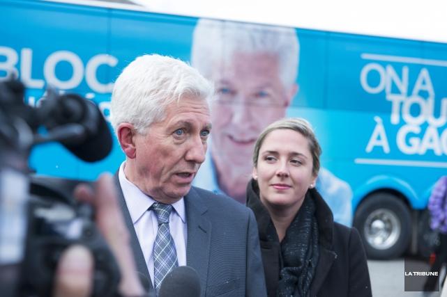 Le chef du Bloc québécois, Gilles Duceppe, a... (Photo Imacom, Julien Chamberland)