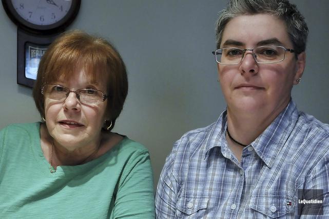 Rollande Gagnon et sa fille Josée Bouchard croient... (Photo Le Quotidien, Rocket Lavoie)
