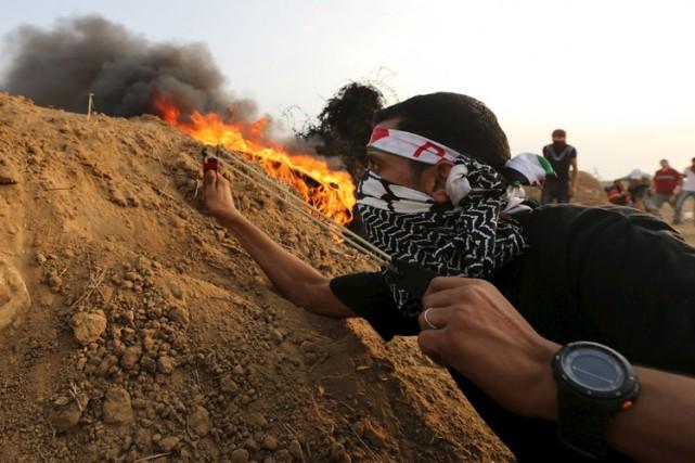 Depuis le 1er octobre, les violences qui s'enchaînent... (PHOTO REUTERS)