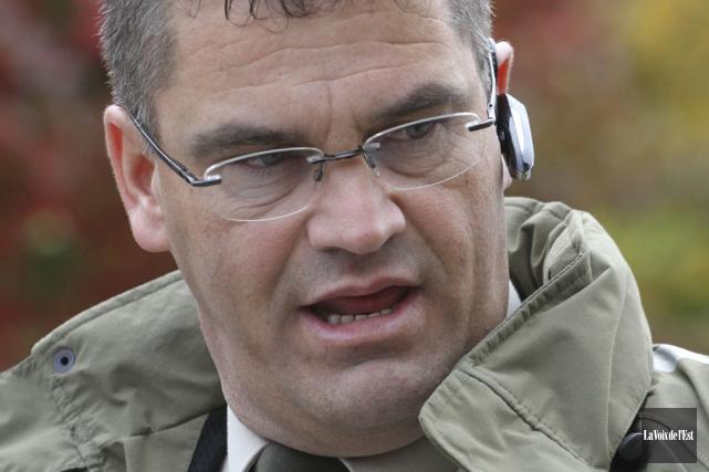 Le sergent Claude Denis, de la Sûreté du... (photo archives La Voix de l'Est)